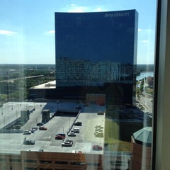 Photo taken at Indianapolis Marriott Downtown by Donna I. on 6/8/2012