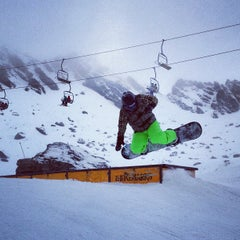 Photo taken at The Remarkables Ski Area by James N. on 9/8/2012
