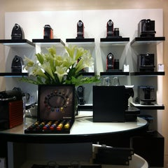 Photo taken at Boutique Nespresso by Juan C. on 3/3/2012