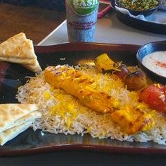 Photo taken at Basil Mediterranian Cafe by Matchu W. on 1/17/2012