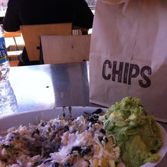 Photo taken at Chipotle Mexican Grill by Mallory C. on 2/12/2012