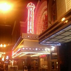 Photo taken at Regal Cinemas Riviera 8 by Marie C. on 1/8/2012