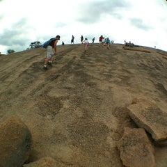 Photo taken at Enchanted Rock State Natural Area by Steve-O on 3/17/2012