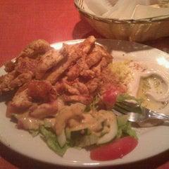 Photo taken at Aladdin Mediterranean Grill by c m. on 7/7/2012