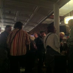 Photo taken at The Office Restaurant & Lounge by chris h. on 6/6/2012