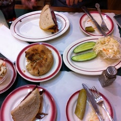 Photo taken at Ben's Best Kosher Delicatessen by Jon D. on 9/9/2011