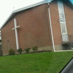 Photo taken at East Hills Moravian Church by Tracy F. on 10/12/2011