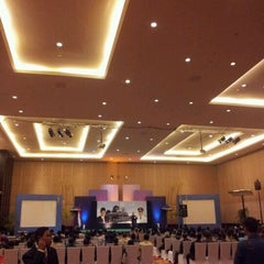 Photo taken at Bali Nusa Dua Convention Center (BNDCC) by Wahyu M. on 10/21/2011