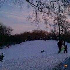 Photo taken at Adler Memorial Park by Allen F. on 1/14/2012