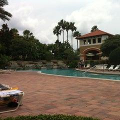 Photo taken at Splash Lagoon (North Village at Orange Lake Resort) by Al Q. on 5/13/2012