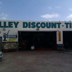 Photo taken at Valley Discount-Tires by Robert A. on 5/23/2011