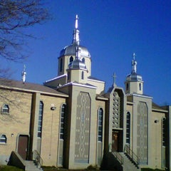 Photo taken at Ukrainian Catholic Church of Epiphany by Lesia T. on 12/16/2011