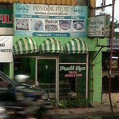 Photo taken at Toko kue pondok hijau by Dian P. on 11/1/2011