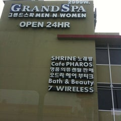 Photo taken at Grand Spa by Kimber T. on 7/21/2011