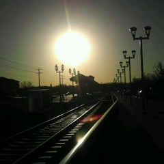 Photo taken at DCTA MedPark Station (A-train) by Cj P. on 2/21/2012