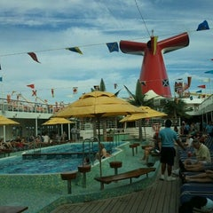 Photo taken at Carnival Ecstasy by James H. on 1/21/2012