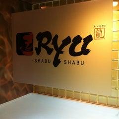 Photo taken at Ryu Shabu-Shabu (ริว ชาบู-ชาบู) by Surachet L. on 12/11/2011