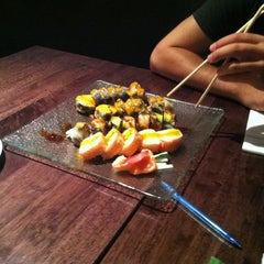 Photo taken at Sushi Palace by Jillian on 7/28/2012