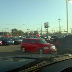 Photo taken at Suburban Chevrolet Cadillac by David S. on 10/6/2011