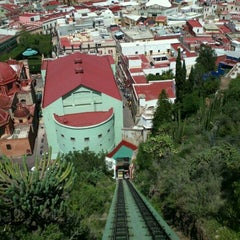 Photo taken at Funicular Panorámico by Pepe A. on 9/18/2011