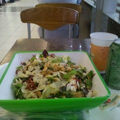 Photo taken at Salad Creations by Paula L. on 9/30/2011
