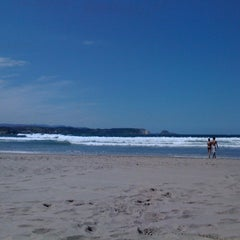 Photo taken at Playa de Salinas / San Juan de Nieva by Ana on 8/29/2012