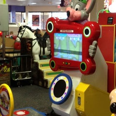 Photo taken at Chuck E. Cheese's by Katie R. on 4/10/2012