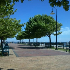 Photo taken at Canarsie Pier by Kareem B. on 5/13/2012