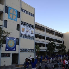 Photo taken at Colegio Loyola by Ivan R. on 2/22/2012