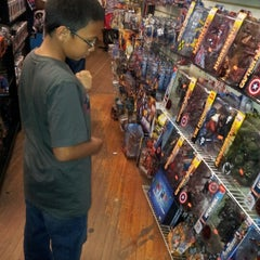 Photo taken at Forbidden Planet by Jose B. on 7/21/2012