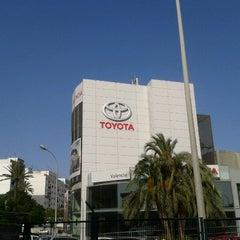 Photo taken at Toyota Valencia by Neus L. on 7/13/2012