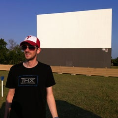 Photo taken at Galaxy Drive In Theatre by Lauren E. on 6/10/2012