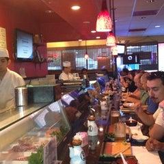 Photo taken at Shogun Sushi by Sam D. on 7/4/2012