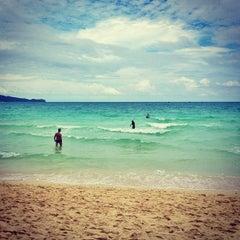 Photo taken at White Beach by @enjayneer on 7/26/2012
