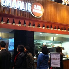 Photo taken at Charlie & Co. Burgers by Mel R. on 6/10/2012