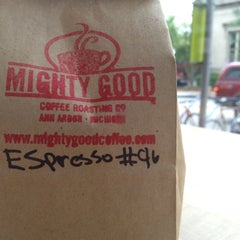 Photo taken at Mighty Good Coffee by Brian K. on 7/3/2012