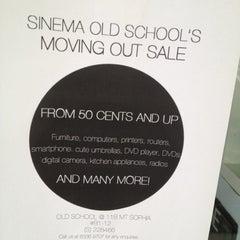 Photo taken at Sinema Old School by Daniel C. on 6/9/2012