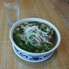 Photo taken at Pho Lucky by May C. on 8/4/2012