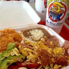 Photo taken at Tacos El Gavilan by Tacos on 7/19/2012