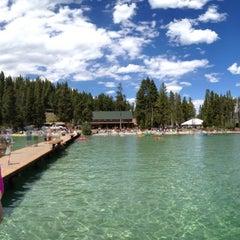 Photo taken at Redfish Lake Lodge by Bjørn M. on 7/6/2012
