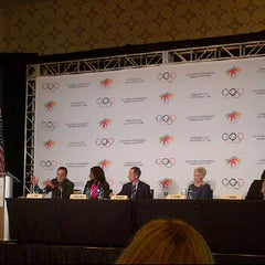 Photo taken at IOC World Conference - Women and Sport by Senator F. on 2/18/2012