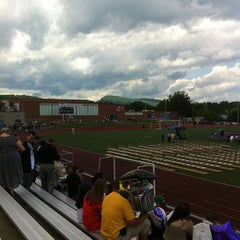 Photo taken at Holyoke High School by Christopher M. on 6/3/2012