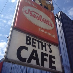 Photo taken at Beth's Café by Brian B. on 7/21/2012