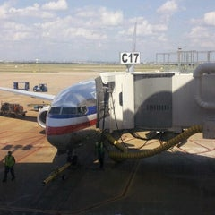 Photo taken at Gate C17 by Jeffrey H. on 6/16/2012
