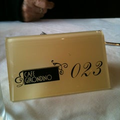 Photo taken at Café Girondino by Carol M. on 5/4/2012