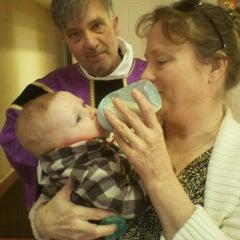 Photo taken at St. John's episcopal church by Lisa L. on 3/11/2012