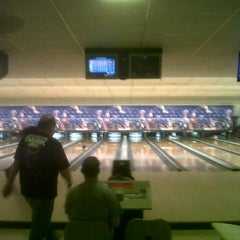 Photo taken at Bar-Don Lanes by Derek D. on 4/6/2012