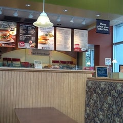 Photo taken at Bruegger's by Nonie C. on 8/29/2012