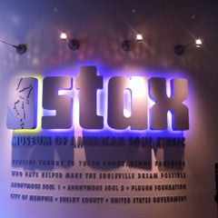 Photo taken at Stax Museum of American Soul Music by Veronica on 8/15/2012