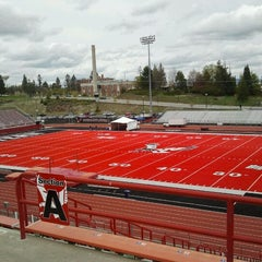 Photo taken at Roos Field by Penny R. on 5/4/2012
